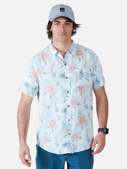 Camisa 5C921 Celeste Maui