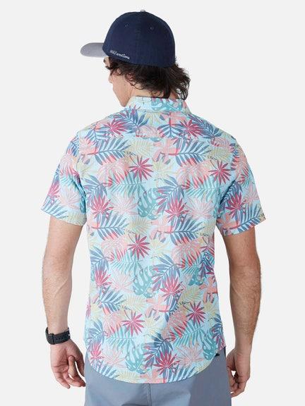 Camisa MC LEAF MIX