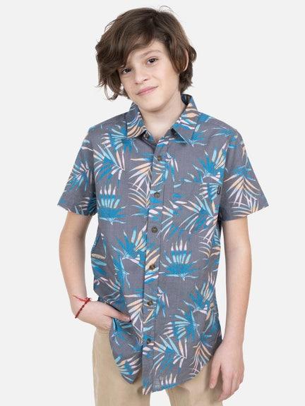 Camisa MC LEAF TONES