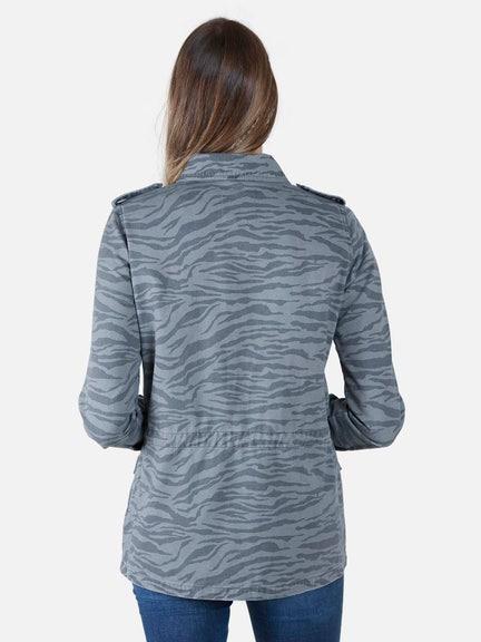 Jacket ANIMAL DARK PRINT