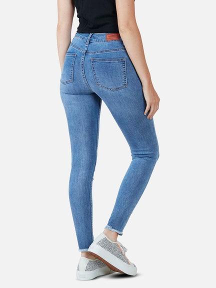 Pantalon LIGHT BLUE SKINNY