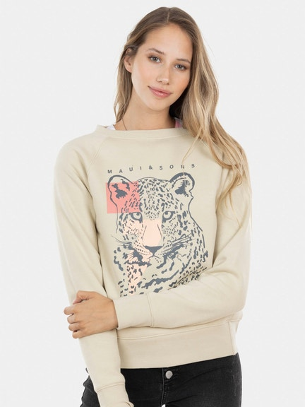 Poleron Leopard Raglan