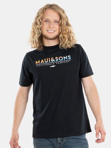 Polera M/C Maui Text