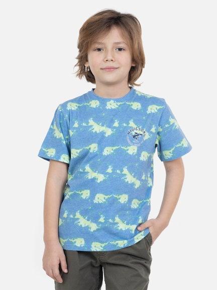 Polera Fly shark dye ss tee Maui 1000127786Multicolored