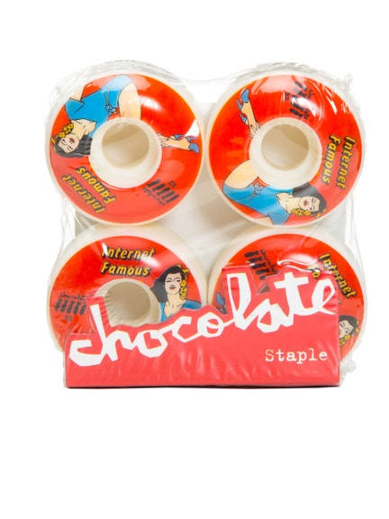 Ruedas Skate Chocolate 7AS317